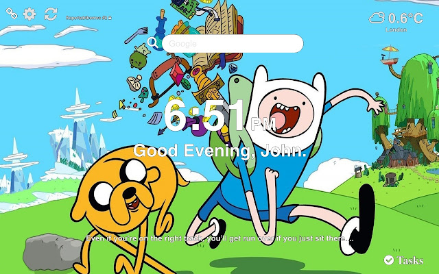 Adventure Time Wallpapers HD New Tab