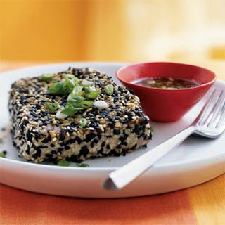 Sesame Crusted Tuna With Wasabi Sauce Recipes