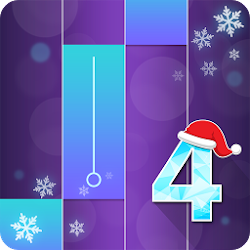 Piano Magic Classical Christmas Game White Tiles 4