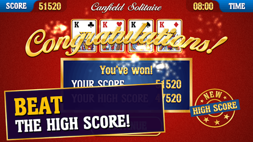 Canfield Solitaire apkpoly screenshots 6