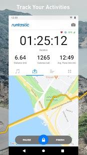 Runtastic Running App: Fitness, Jog & Run Tracker Screenshot