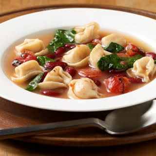 Tortellini Vegetable Soup.