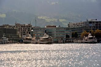 Photo: We arrive at Lucerne
