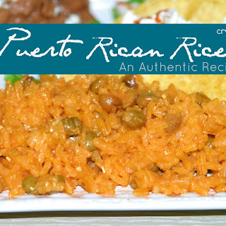 Puerto Rican Rice (An Authentic Recipe).
