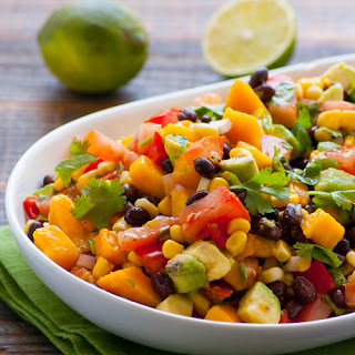Clean Mango Black Bean Salad