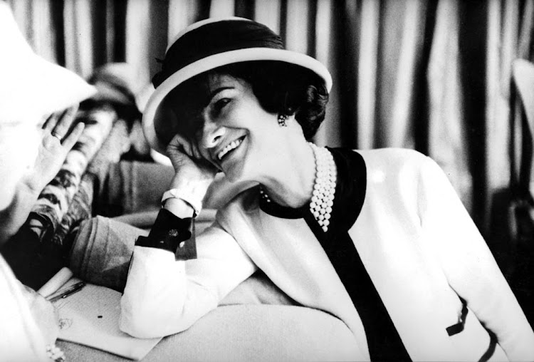 Coco Chanel c. early 50's.
