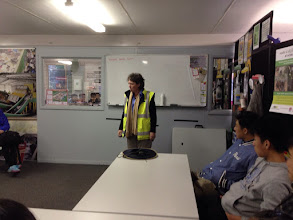 Photo: Day 11: Resource Recovery Centre - Briefing Session
