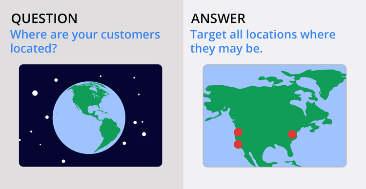 Understanding your customers: Customer Locations