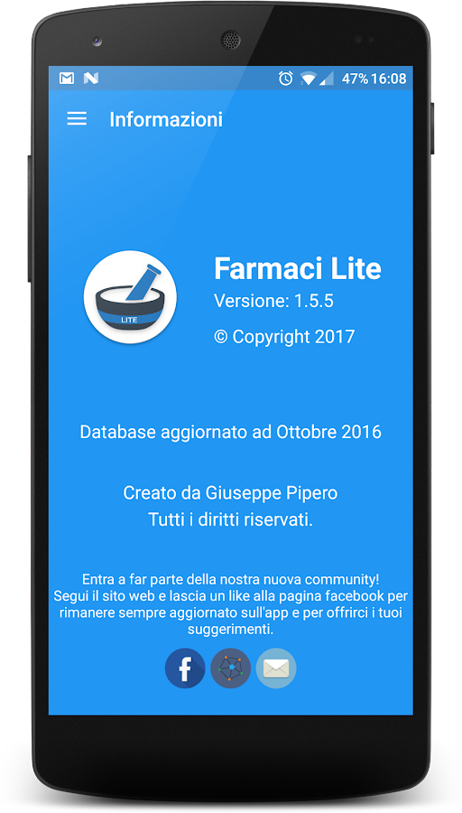 Farmaci Lite- screenshot