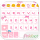 Pink Knot Emoji Keyboard Theme Download on Windows
