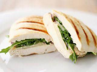 Bunyan's Diabetic Grilled Chicken Peach Sammie Recipe