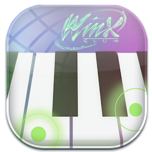 Game winx club piano tiles