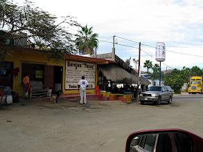 Photo: Fantastic taco stand in Todos Santos