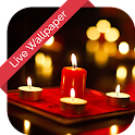 Love Candle Effect 3d cube LWP icon