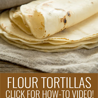 Gluten Free Flour Tortillas—plus how-to video.