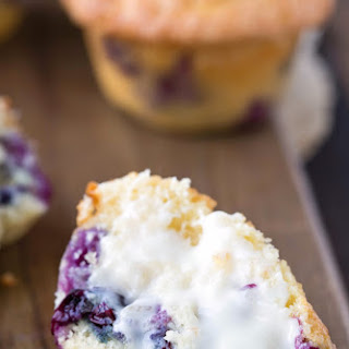 Bakery Style Blueberry Muffins Recipe