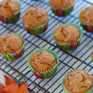 Healthy Pumpkin Muffins.