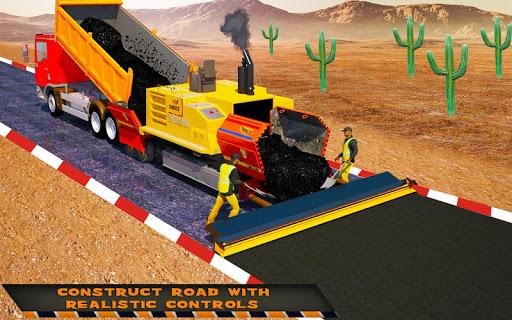 Highway Construction Road Builder 2019- Free Games 2 screenshots 7