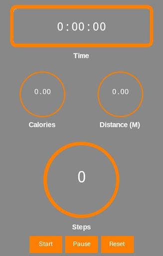 歩数計カロリー計算ステップ