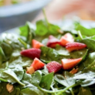 Greens and Berries Spring Salad