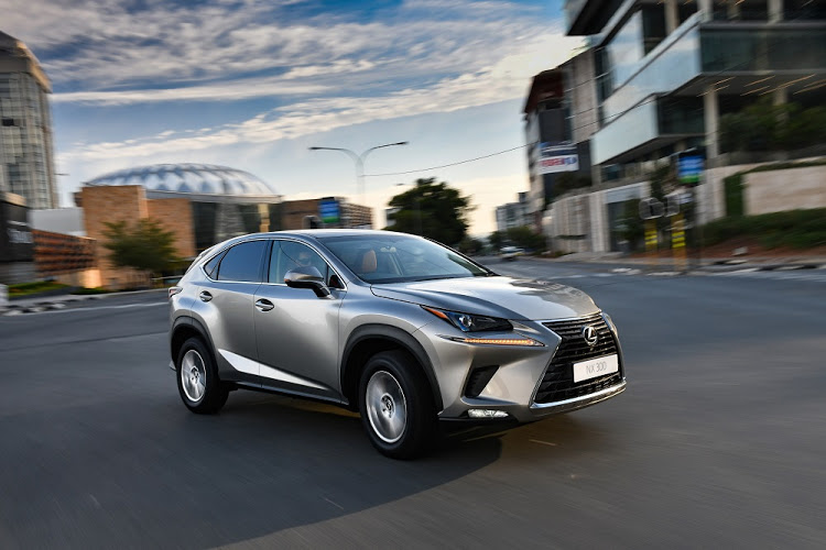 Lexus has made some minor design changes to its NX models