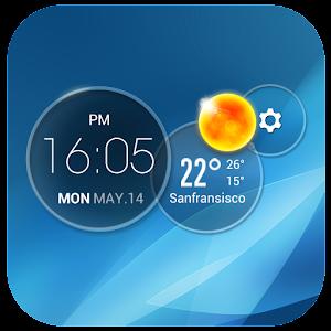 Download Moto Blur style Atrix Clock