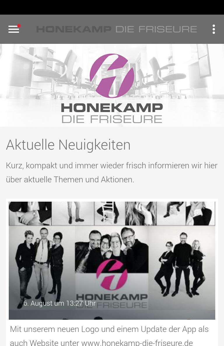 Скриншот Honekamp Die Friseure