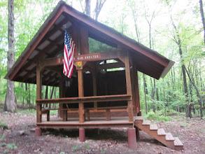 Photo: Tuscarora Trail shelter