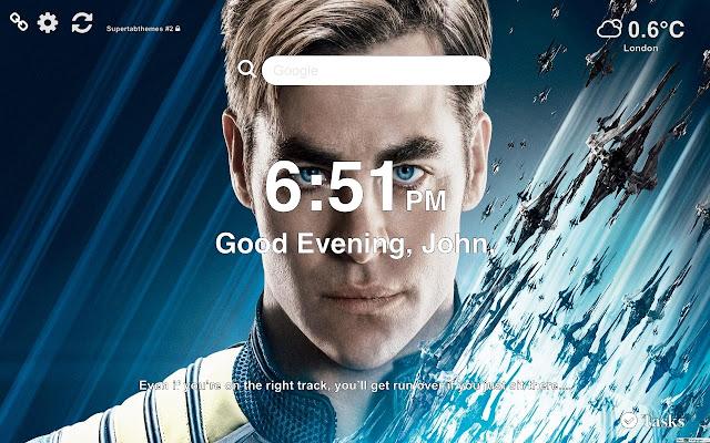 Captain Kirk HD Wallpaper 2019