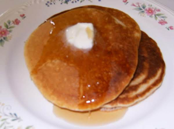 Ultimate Pancakes Using Bisquick. These Pancakes Have 1/4 Tsp Pumpkin Pie Spice In The Batter.
