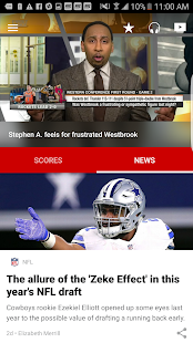 ESPN- screenshot thumbnail