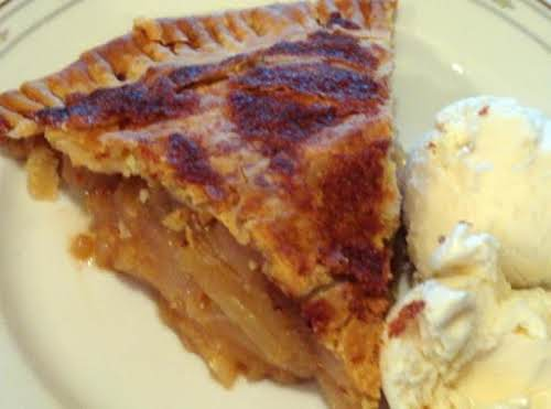"Apple Pear Pie ""I am giving this pie a 5 stars! I..."
