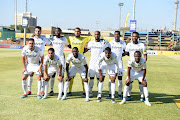 Bidvest Wits team during the MTN 8, quarter final match between Bidvest Wits and SuperSport United at Bidvest Stadium on August 18, 2019 in Johannesburg, South Africa.