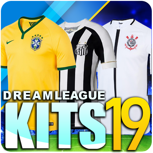Baixar Dream League Brasileiro kits soccer Brazil