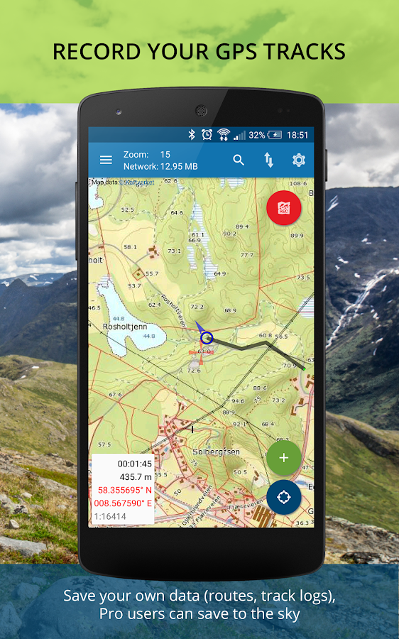 Norgeskart Maps Of Norway Android Apps On Google Play - Norway topographic map