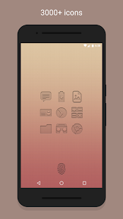 PushOn - Icon Pack Screenshot 2