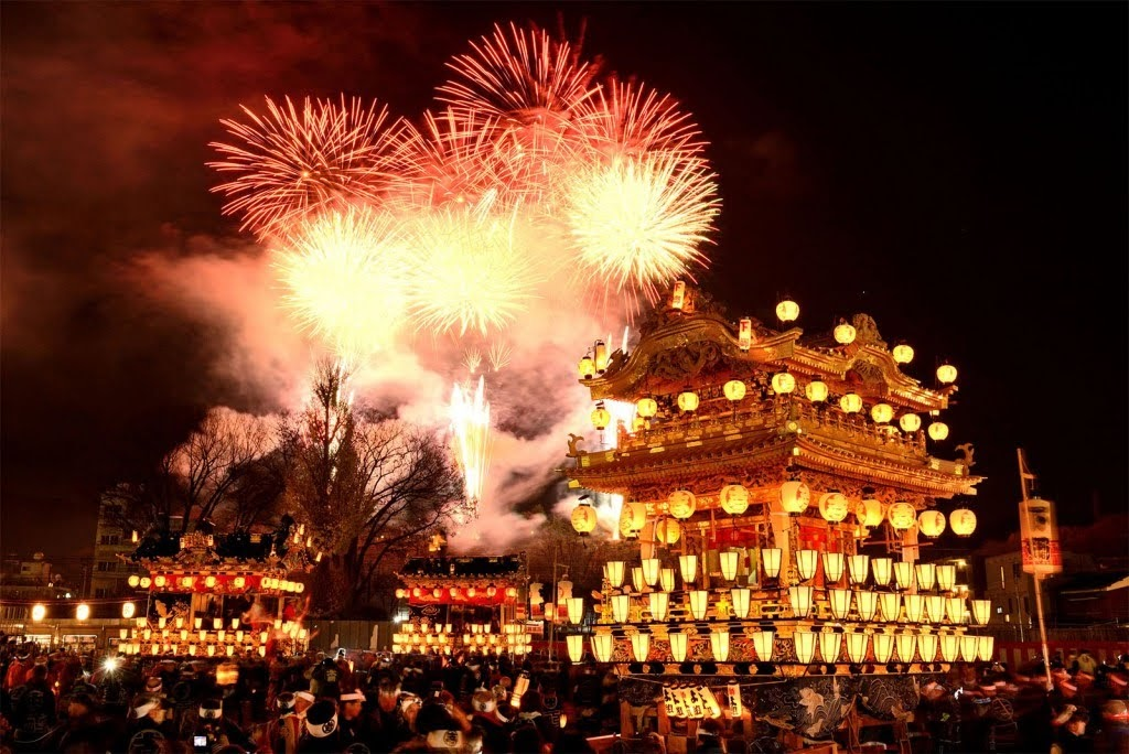 Chichibu Yomatsuri es un espectacular festival que se celebra al final del invierno.