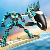 Robot Shark Transforming Mod