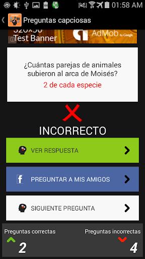 Preguntas Capciosas 1.6 screenshots 4