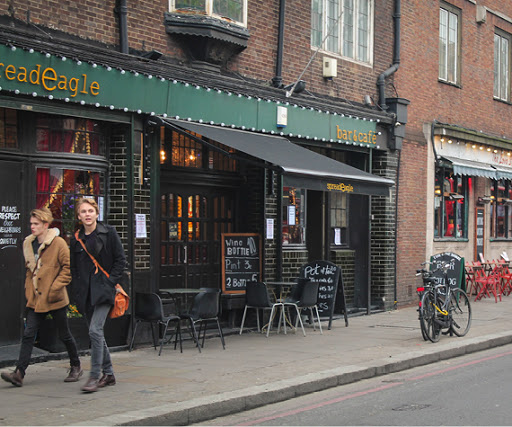 Restaurants and Cafes in Hoxton