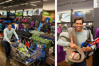 Photo: Shopping at Outdoor Warehouse for all the right gear from jungle trekking.