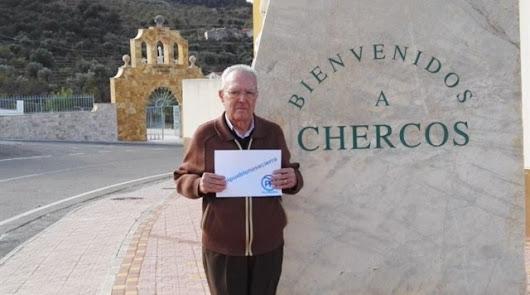 El alcalde de Chercos, a las elecciones con 95 años para renovar el cargo