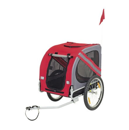 Cykelkärra Liner Economy Röd/Grå 125x95x72cm Max.40kg