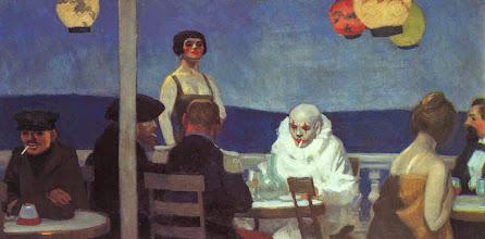 "Photo: Edward Hopper, ""La sera blu"" (1914)"