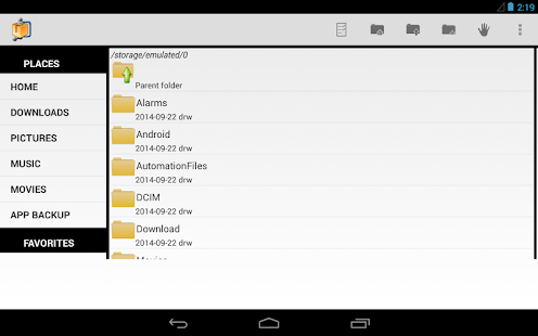 App AndroZip™ FREE File Manager APK for Windows Phone