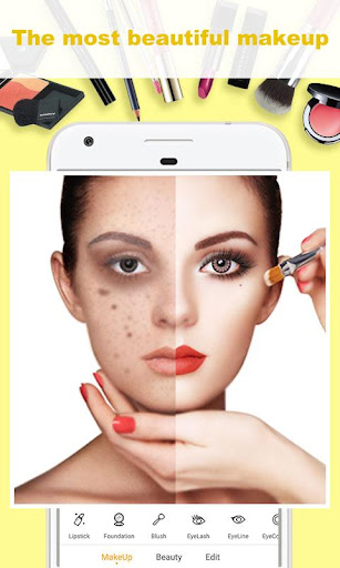 Beauty Makeup - Selfie Beauty Filter Photo Editor  1