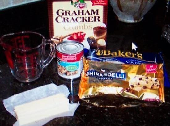 Pre-heat oven to 350F.. Mix together the butter and graham cracker crumbs and press into...