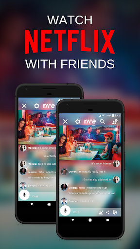 Rave – Netflix & YouTube with Friends 3.7.3 screenshots 1