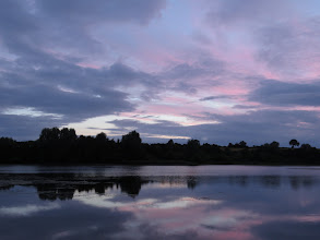 Photo: 12 Aug 13 Priorslee Lake: Very little colour in the sunrise this morning. (Ed Wilson)