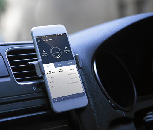 The Drive system is app based for ease of use by drivers and managers. Picture: CTRACK